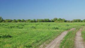 Paisaje rural, europeo almacen de metraje de vídeo