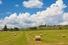 Paisaje rural, Francia Imágenes de archivo libres de regalías