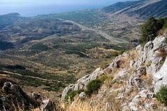 Paisaje rural griego Imagen de archivo libre de regalías