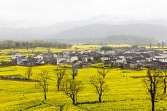 Paisaje rural hermoso en China Imagen de archivo libre de regalías