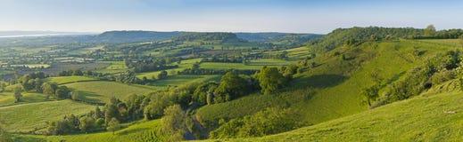 Paisaje rural idílico, Cotswolds Reino Unido fotos de archivo libres de regalías