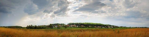Paisaje rural panorámico fotografía de archivo libre de regalías