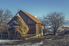 Paisaje rural rumano imágenes de archivo libres de regalías