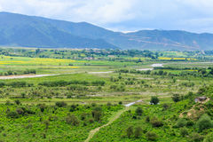 Paisaje rural, Shangri-La fotografía de archivo libre de regalías