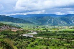 Paisaje rural, Shangri-La foto de archivo libre de regalías