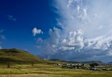 Paisaje rural surafricano fotografía de archivo