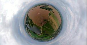 Paisaje rural VR360 metrajes