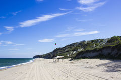 Paisaje salvaje de la playa Imagen de archivo libre de regalías