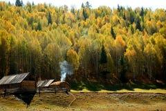 Paisaje septentrional de Hemu Foto de archivo