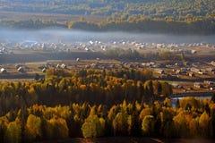 Paisaje septentrional de Hemu Imagen de archivo