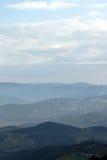 Paisaje Serbia de la montaña de Tara Foto de archivo libre de regalías