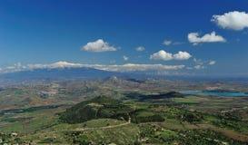 Paisaje siciliano 2 del Etna Fotografía de archivo libre de regalías