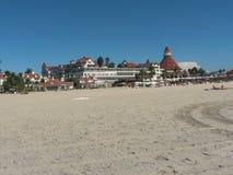 Paisaje sobre la playa de Coronado fotografía de archivo libre de regalías