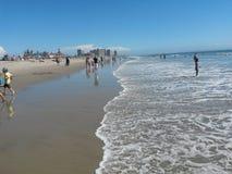 Paisaje sobre la playa de Coronado foto de archivo libre de regalías