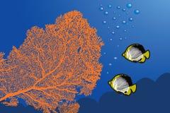 Paisaje subacuático libre illustration
