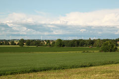 Paisaje sueco Imagenes de archivo