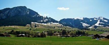 Paisaje Suiza Imagen de archivo libre de regalías
