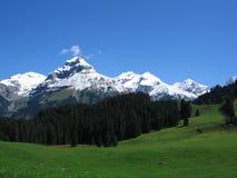 Paisaje suizo Fotos de archivo