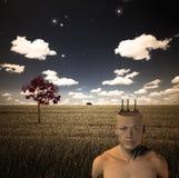 Paisaje surrealista Fotografía de archivo libre de regalías