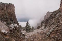 Paisaje surrealista de la montaña Imagen de archivo libre de regalías