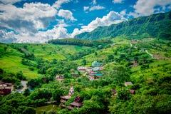 Paisaje Tailandia del norte imagenes de archivo