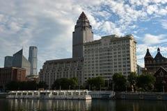 Paisaje Tianjin de la ciudad fotografía de archivo libre de regalías