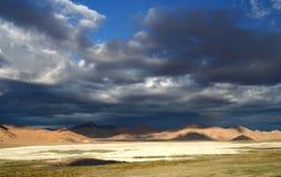 Paisaje tibetano Foto de archivo libre de regalías