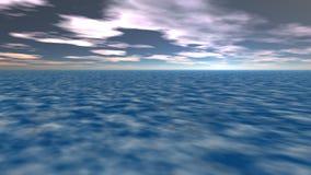 Paisaje, tierra y cielo fantásticos abstractos