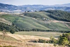 Paisaje, Toscana Val D'Orcia Foto de archivo