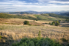 Paisaje, Toscana Val D'Orcia Fotografía de archivo