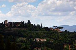 Paisaje toscano Florencia, Italia imagen de archivo