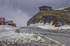 Paisaje triste de la montaña Fotos de archivo libres de regalías