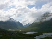Paisaje Trollstigen de Noruega Imagenes de archivo