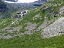 Paisaje Trollstigen de Noruega Imagen de archivo