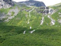 Paisaje Trollstigen de Noruega Fotos de archivo libres de regalías