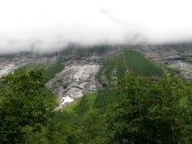 Paisaje Trollstigen de Noruega Imagen de archivo libre de regalías