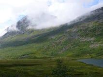 Paisaje Trollstigen de Noruega Fotografía de archivo libre de regalías