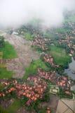 Paisaje tropical aéreo Imagen de archivo libre de regalías