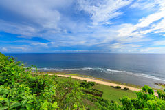 Paisaje tropical Bali, Indonesia Imagen de archivo libre de regalías