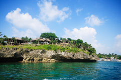 Paisaje tropical de Boracay, Filipinas Imagen de archivo libre de regalías