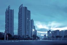 Paisaje urbano Foto de archivo libre de regalías