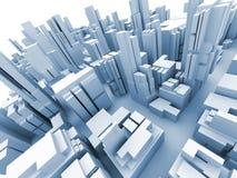 Paisaje urbano ilustración del vector