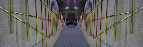 Paisaje urbano abstracto creativo de Rhode Island de la providencia fotos de archivo