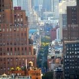 Paisaje urbano América de Nueva York Imágenes de archivo libres de regalías