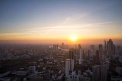 Paisaje urbano Bangkok Imagen de archivo libre de regalías