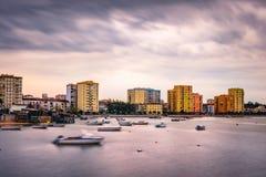 Paisaje urbano Barreiro Foto de archivo libre de regalías