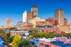 Paisaje urbano c?ntrico de Boston, Massachusetts, los E.E.U.U. imagen de archivo
