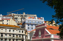 Paisaje urbano, casas Imagenes de archivo