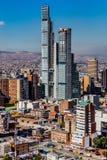 Paisaje urbano Colombia del horizonte de Bogotá foto de archivo libre de regalías