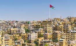 Paisaje urbano de Amman, Jordania imágenes de archivo libres de regalías